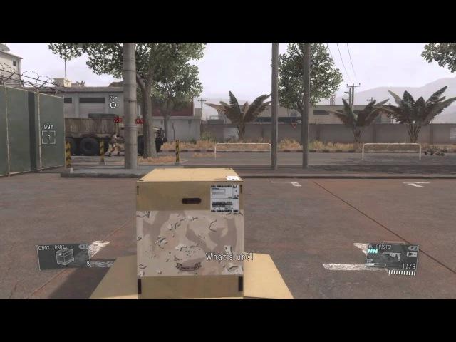 Metal Gear Solid V-Acidentes acontecem