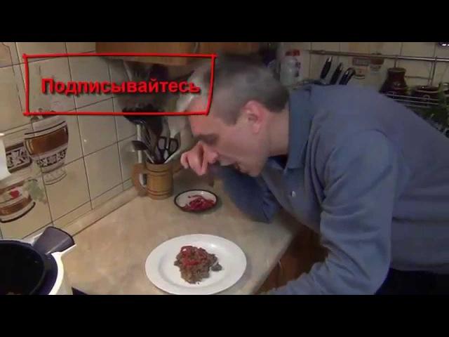 Гречка с мясом в мультиварке Moulinex CE 7011 Cook4Me