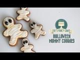(https://vk.com/lakomkavk)  Halloween mummy gingerbread cookies