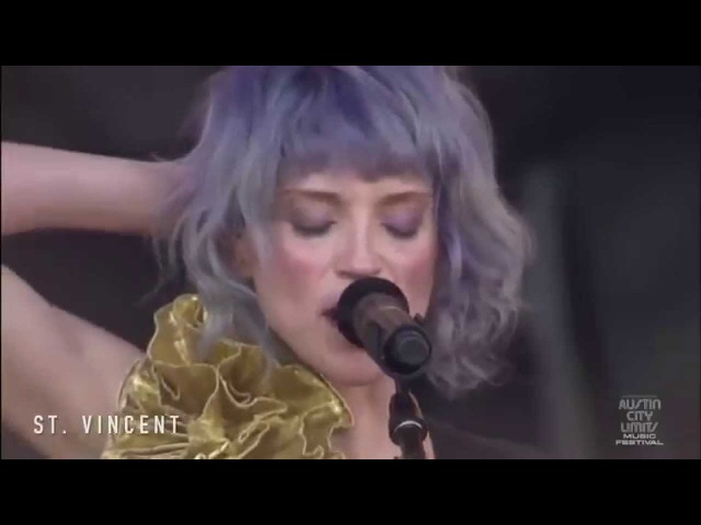 St. Vincent - Your Lips Are Red @ ACL 2014