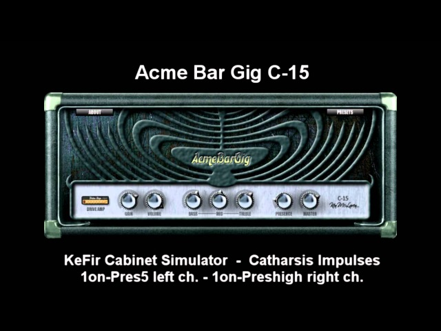 17 Freeware Guitar Amp plugins (VSTs) in Heavy Mix