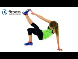 15-минутная домашняя интервальная кардио тренировка с собственным весом - Потеем всерьез. 15 Minute At Home Bodyweight Cardio Interval Workout - Sweat Like You Mean It
