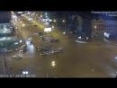 Авария на пересечении Красного проспекта и улицы Гоголя