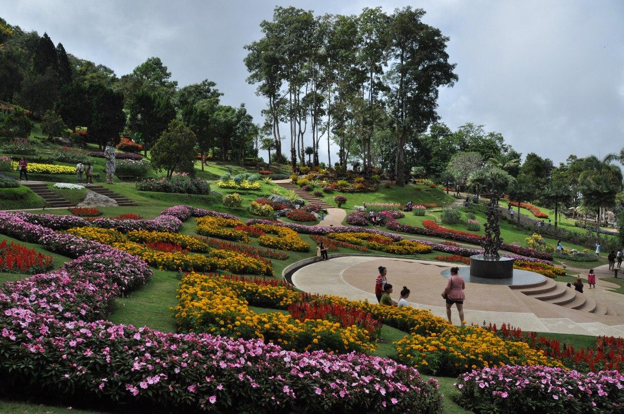 сад Mae Fah Luang Garden
