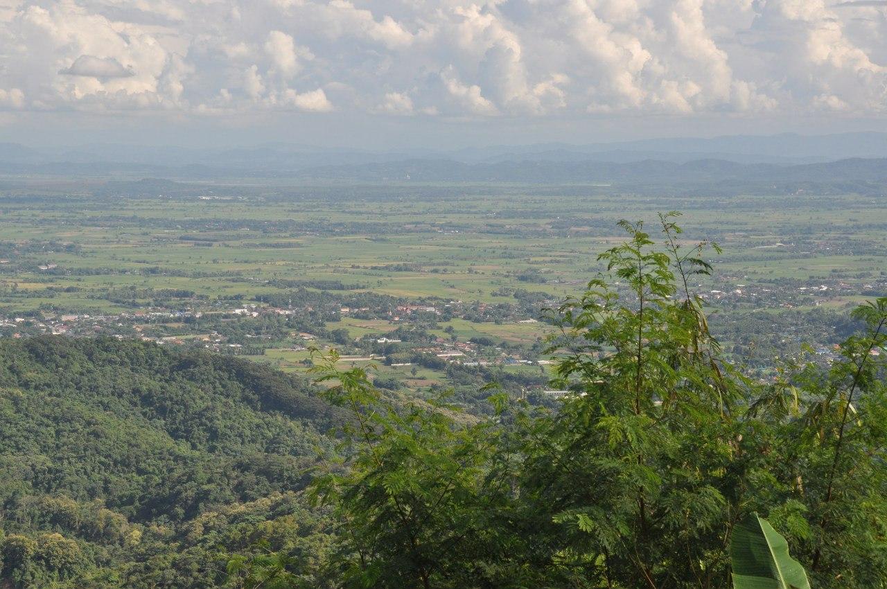 дорога в дендрарий Mae Fah Luang Arboretum