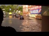Потоп в Курске 20 06 2015 ул Невского_вид из магазина Евросвет