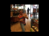 Practicing my moves... Marcus Johns (Vine)