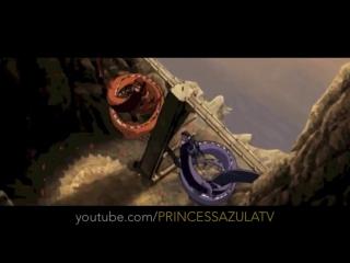 Aang  Zuko Meet the Dragons- Full Scene [HD]