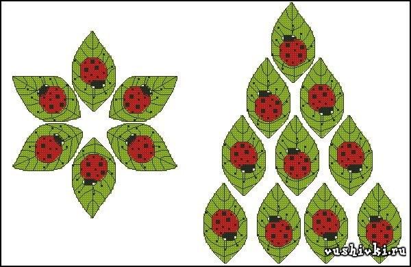 Схемы вышивки крестом |
