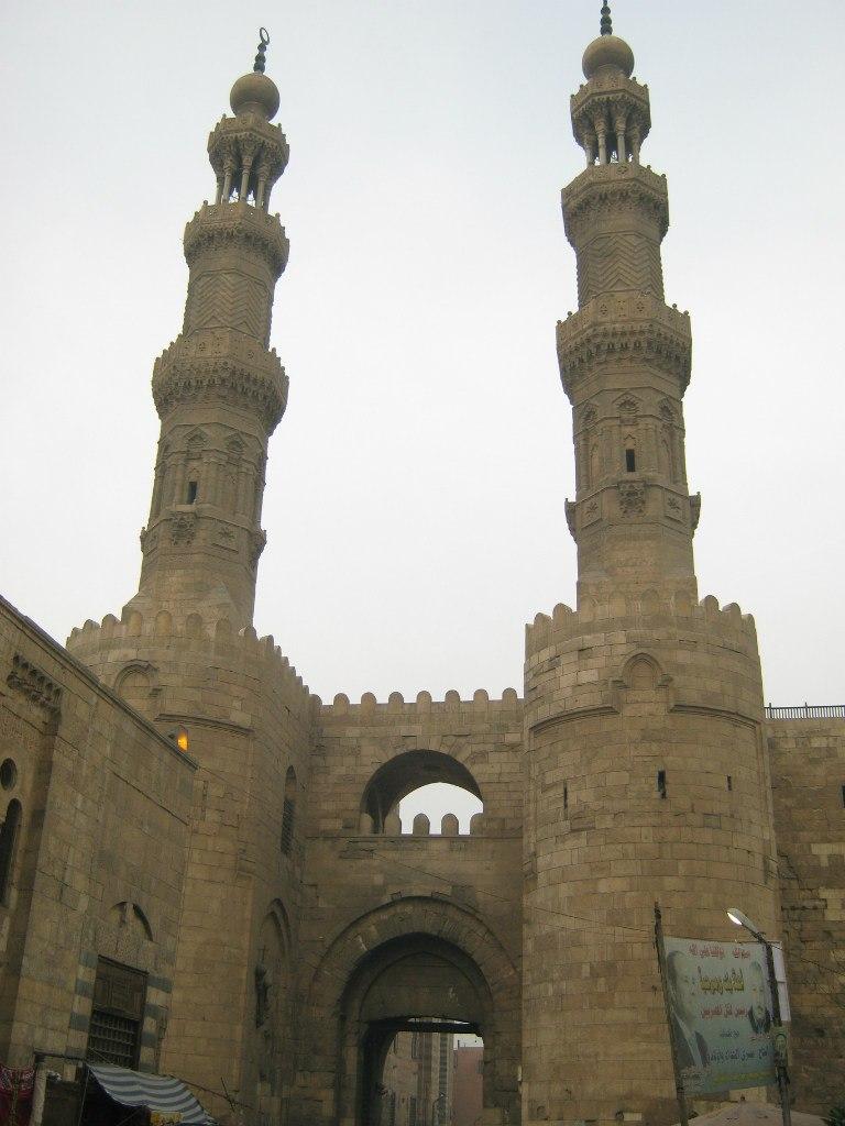 минареты ворот Баб-Зувейлаы