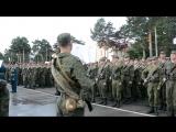 Присяга Елань (лето 2015) - РХБЗ - 1 рота