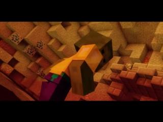 Легенда о херобрине. Minecraft animation.(Майнкрафт анимация)