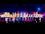 Танец анимешников Ну где же ваши ручки ( Vocaloid )