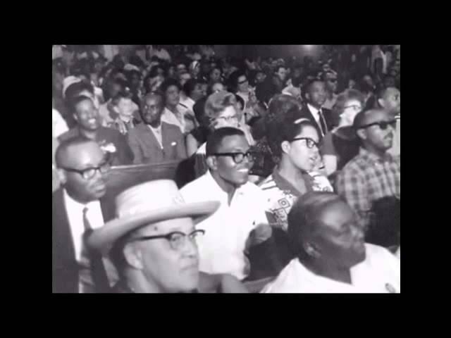 Mahalia Jackson singing Martin Luther King Jr preaching at Church