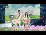 150501 Park Bo Gum (박보검) & Red Velvet Irene (아이린) - One and a half (일과 이분의 일) @ Music Bank