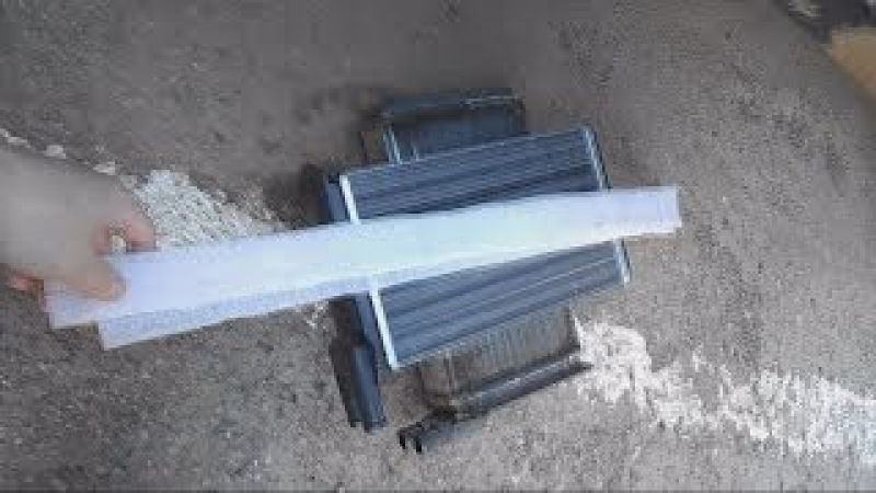 Замена радиатора отопителя ВАЗ 2114 ( самая подробная видео инструкция )