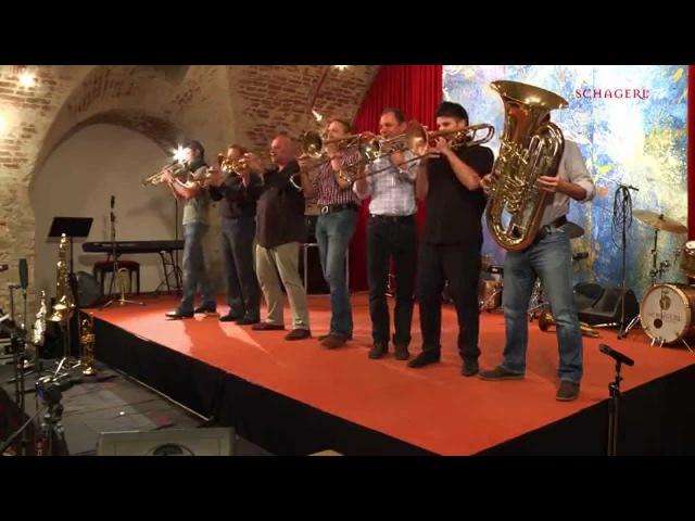 Mnozil Brass - Klezmi geht fremd - Schagerlparty at Stift Melk