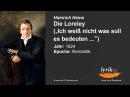 Heinrich Heine: Die Loreley (1824)