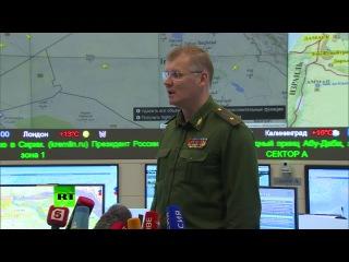 ВКС РФ совершили 55 боевых вылетов по объектам боевиков ИГ в четырех провинциях Сирии