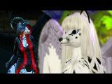 SL Furry Dance - Angel Fox /  танец фурри - аватар лиса демон - ангел