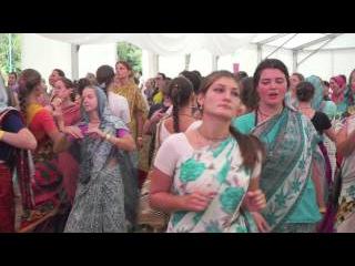 Ukraine Festival 2015: Gaura Arati Kirtan by Bada Haridas Prabhu