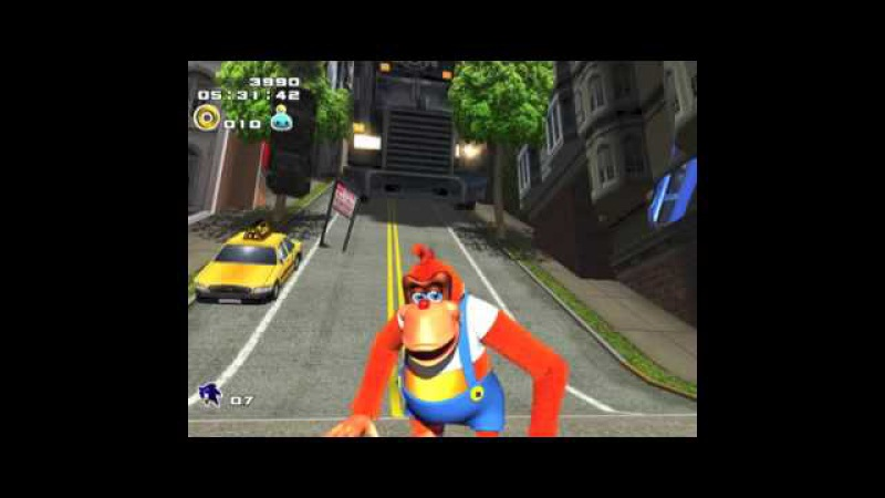 CITY ESCAPE MEGAMIX featuring Darude Space Jam Lanky Kong and Knuckles
