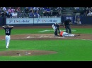 Giancarlo Stanton Hit in the Face with Pitch - FULL VIDEO