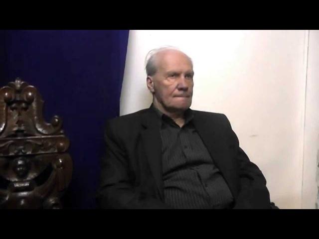 А Н Бурганов Интервью творческой студии Проекция об Андрее Тарковском 21 декабря 2014г