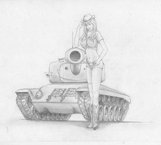 фото рисунки танки