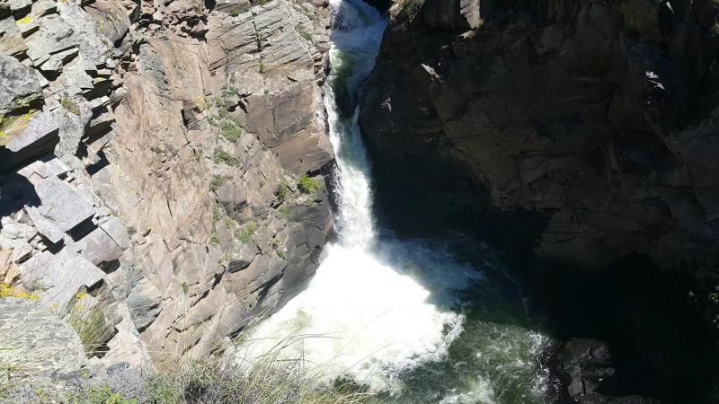 Водопад Кюр-Кюре верхний каскад (Кур-Курэ)