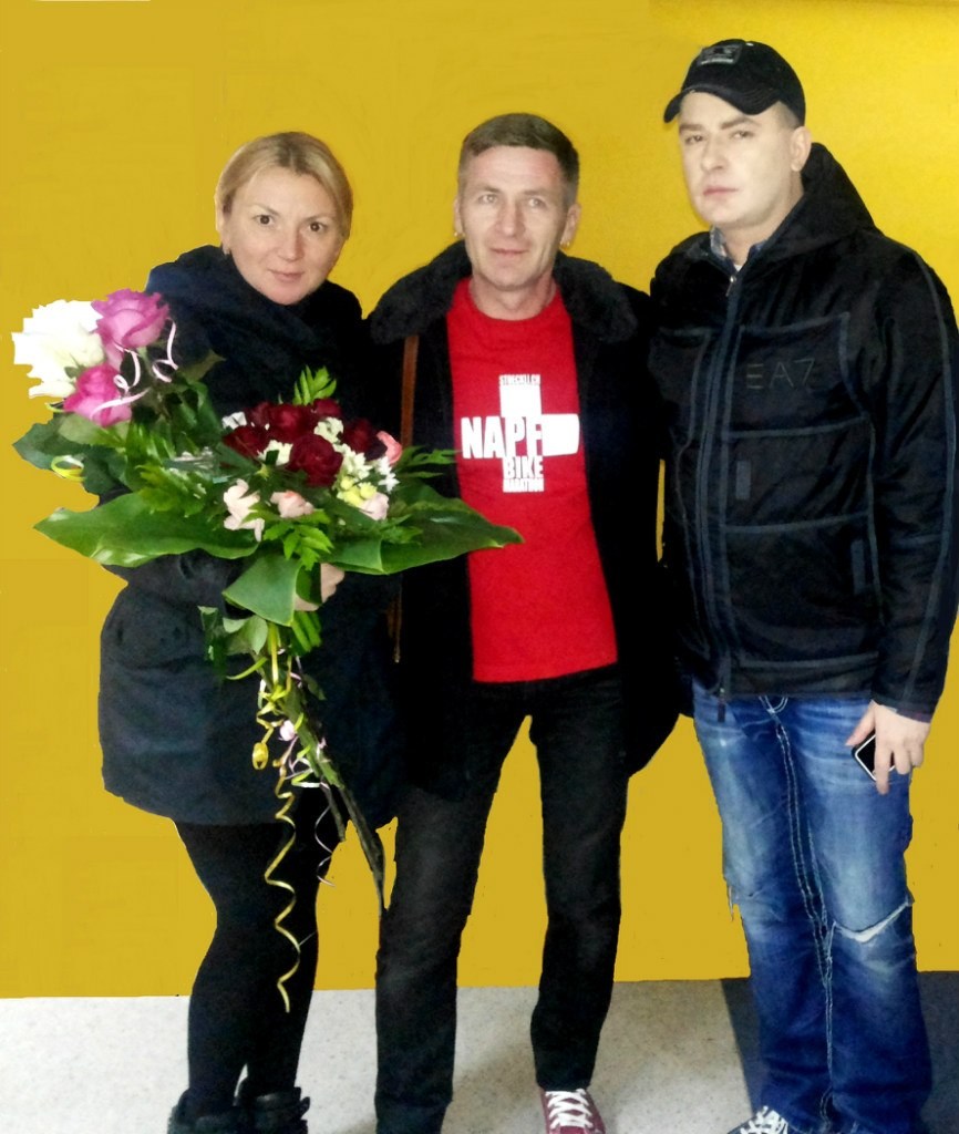 Андрей Данилко в Белоруссии Лида