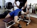 Белов Павел. 135 кг беэ экипы. Подготовка к турниру. вес 81 кг