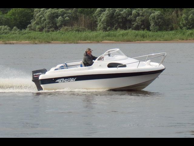 Моторная лодка Бестер-500 с мотором Yamaha 90 AETOL