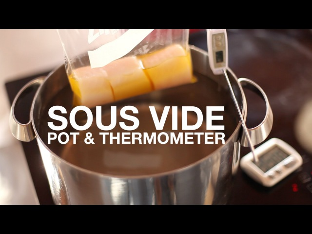 Sous Vide on a Budget • Pot on a Stove Method • ChefSteps