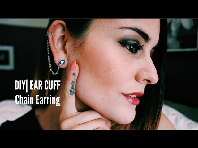 DIY| Ear Cuff Chain Earring
