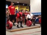 "I Love Powerlifting on Instagram: ""Sean Olsen тянет в экипировке 330 кг  Весовая категория до 90 кг"""