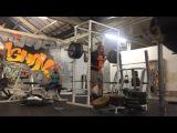310kg / 683lb squat PB in knee wraps :)