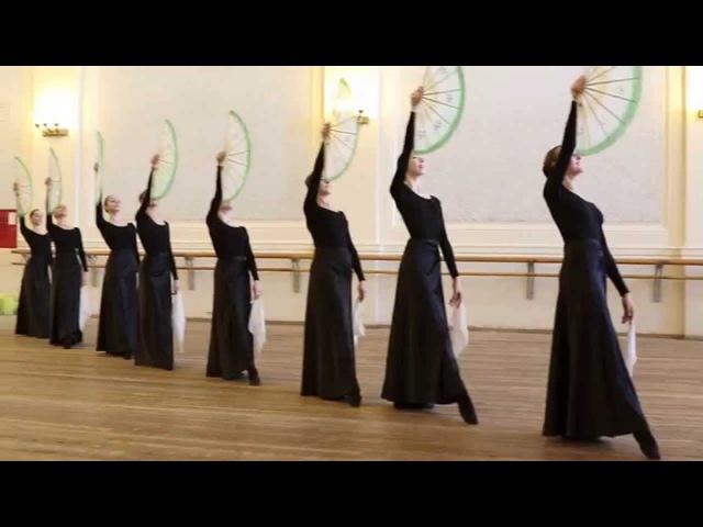 Школа студия при ГААНТ имени Игоря Моисеева Фрагменты экзамена по народно сценическому танцу