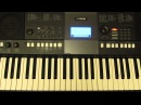 Yamaha PSR E423 Функции Performance Assistant Easy Song Arranger by Toffa Alimoff
