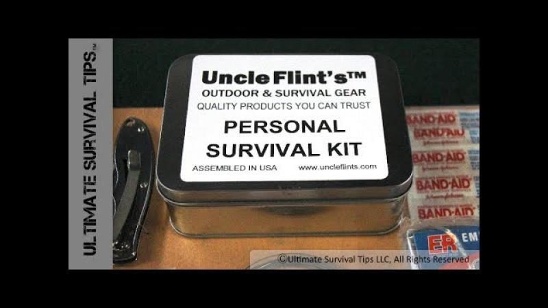 $25 Survival Kit - Uncle Flints Survival Kit - Assembled in USA