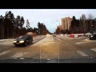 Забыл повернуть - Снежинск 18 ноября 2014
