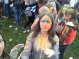 Фестиваль Красок ColorFest.....Я,лиза и Махч тусим