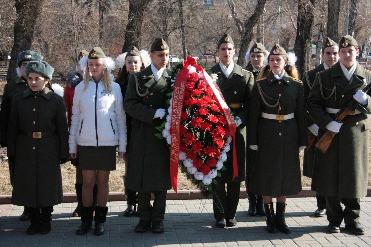 Земляки почтили память легендарного сталинградского летчика