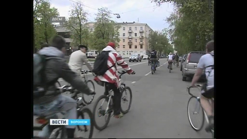 Первая велодорожка в Воронеже появится в следующем году