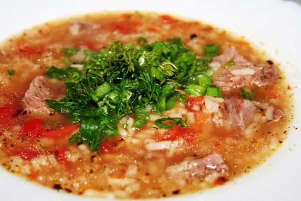 Суп харчо с тушенкой пошаговый рецепт с фото