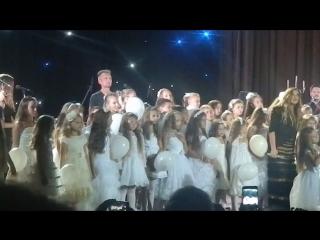 Выступление с Н.Могилевской