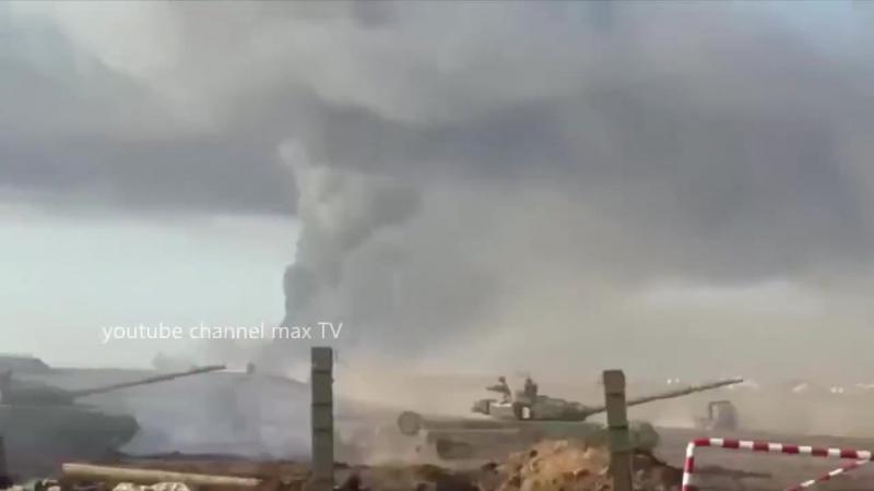 ЭТО реальный взрывов на Кузьминском полигоне!