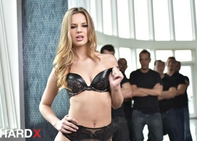 Jillian Janson In 1st Blowbang