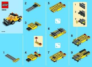 инструкция всех лего машин - фото 2