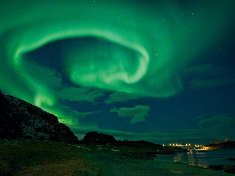 Северное сияние, Норвегия